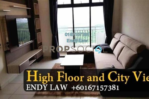 Apartment For Sale in Sky View, Bukit Indah Freehold Semi Furnished 2R/2B 430k