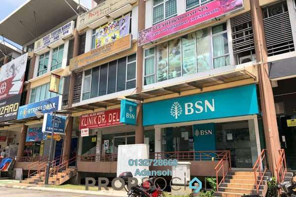 Shop For Sale in M Avenue, Segambut Freehold Unfurnished 0R/0B 3.3m