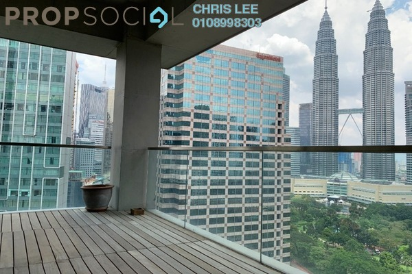 Condominium For Sale in Park Seven, KLCC Freehold Semi Furnished 3R/3B 4.32m