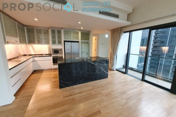 Condominium For Sale in St Mary Residences, KLCC Freehold Semi Furnished 3R/3B 2.47m