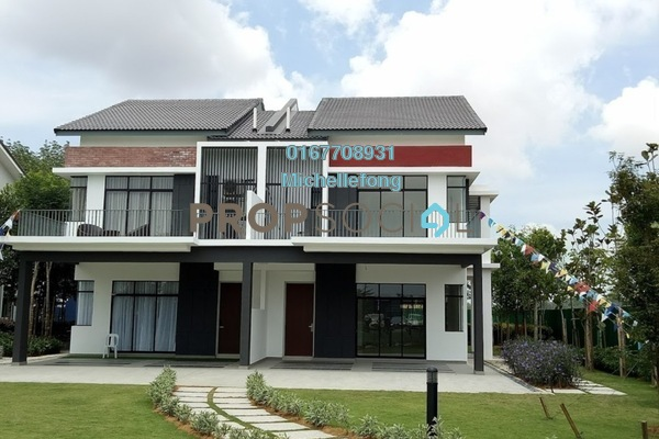 Terrace For Sale in Meridin East, Pasir Gudang Leasehold Unfurnished 4R/3B 581k