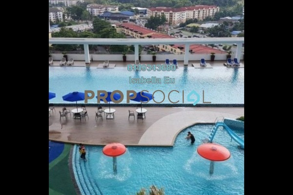 Serviced Residence For Rent in Amerin Mall & Residence, Balakong Freehold Semi Furnished 2R/2B 1.15k