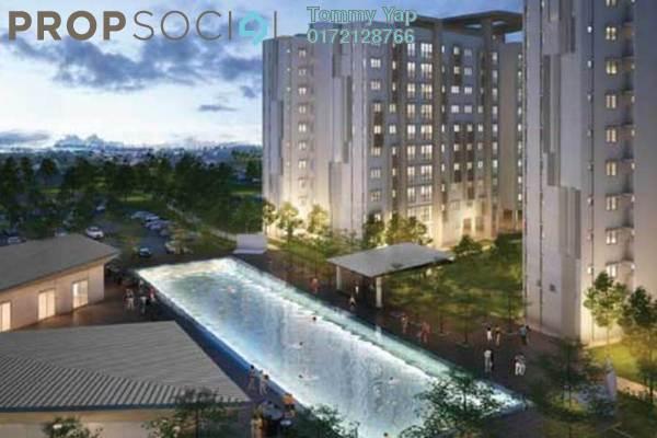 Apartment For Sale in Sri Mutiara, Sungai Besi Freehold Semi Furnished 3R/2B 350k