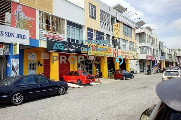 For Rent Office at Taman Kajang Impian, Kajang Freehold Fully Furnished 0R/2B 1.8k