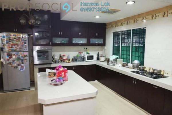 Terrace For Sale in Taman Tasik Indah, Jalan Ipoh Freehold Semi Furnished 6R/6B 1.4m