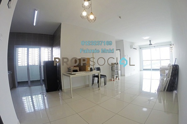 Condominium For Rent in Aurora Residence @ Lake Side City, Puchong Freehold semi_furnished 3R/2B 1.5k