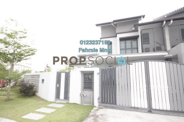 Terrace For Sale in Nahara, Bandar Bukit Raja Freehold Semi Furnished 5R/3B 1.2m