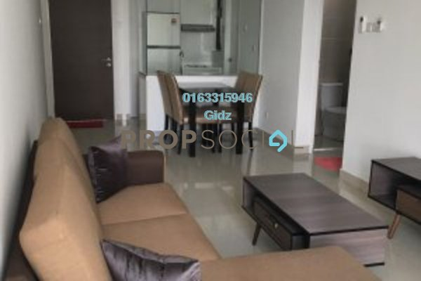 Apartment For Rent in H2O Residences, Ara Damansara Freehold Fully Furnished 2R/2B 2.5k