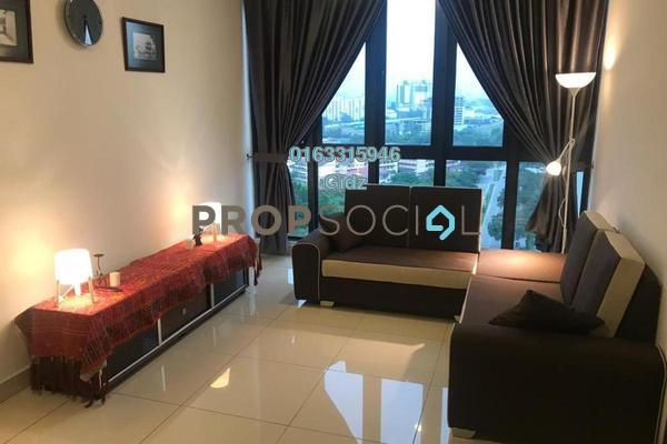 For Sale Apartment at H2O Residences, Ara Damansara Freehold Fully Furnished 1R/1B 680k