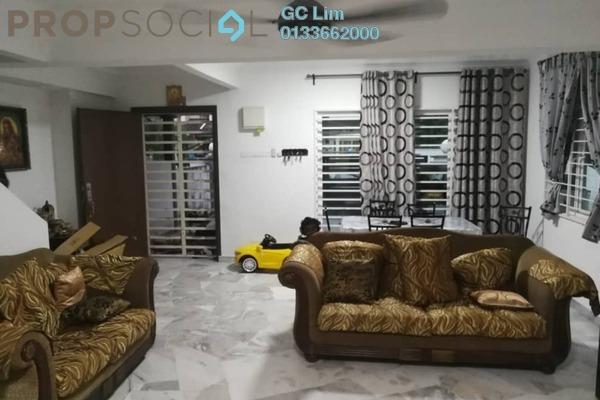 Terrace For Sale in Bandar Damai Perdana, Cheras South Freehold Semi Furnished 4R/3B 918k