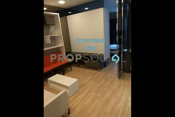 Apartment For Rent in VERVE Suites, Mont Kiara Freehold fully_furnished 0R/1B 3k
