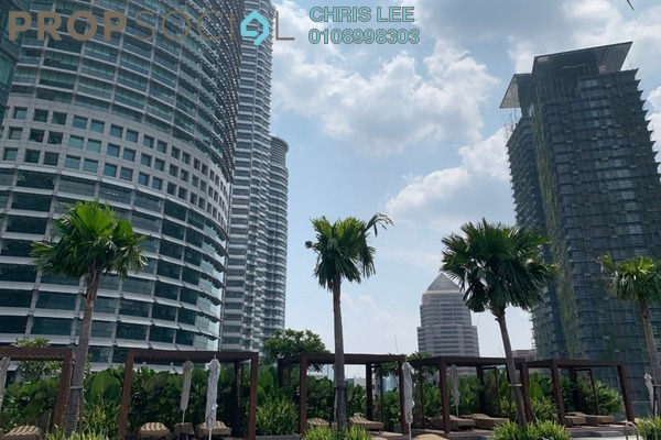 Condominium For Sale in Four Seasons Place, KLCC Freehold Semi Furnished 2R/2B 5.4m