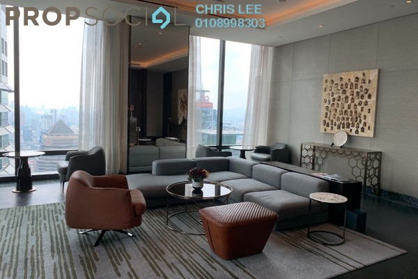 Condominium For Rent in Four Seasons Place, KLCC Freehold Fully Furnished 3R/3B 19k
