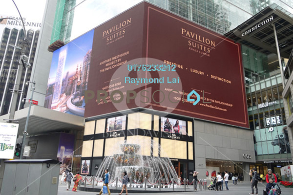 For Rent Serviced Residence at Pavilion Suites, Bukit Bintang Freehold Fully Furnished 1R/1B 7.5k