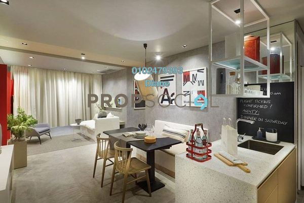 Serviced Residence For Sale in The Gardens, Mid Valley City Freehold Fully Furnished 1R/1B 470k