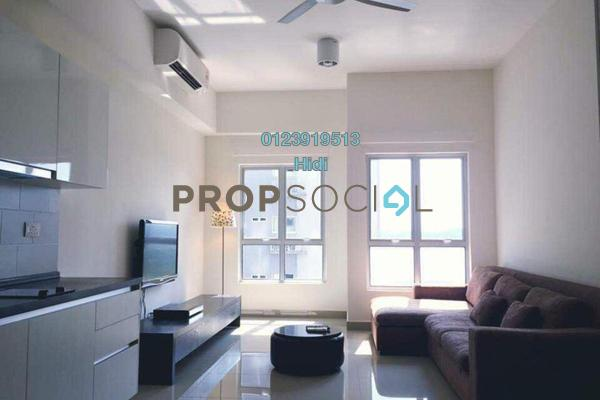 Serviced Residence For Rent in The Wharf, Puchong Freehold Fully Furnished 1R/1B 1.25k