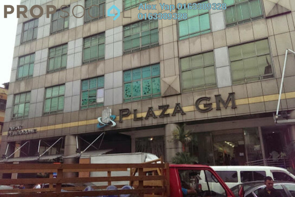 For Sale Shop at Plaza GM, Chow Kit Freehold Unfurnished 0R/0B 1.3m
