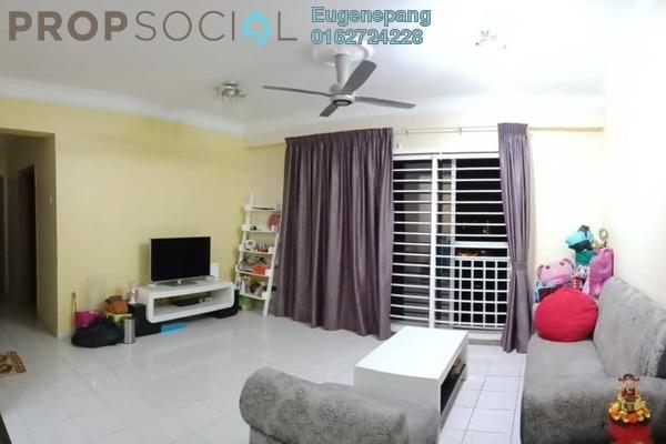 Condominium For Sale in Prima Tiara 2, Segambut Freehold Semi Furnished 3R/2B 360k