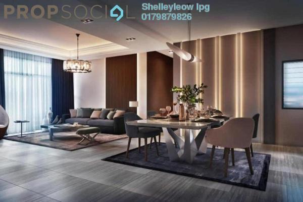Condominium For Sale in Platinum Arena, Old Klang Road Freehold Semi Furnished 3R/2B 350k