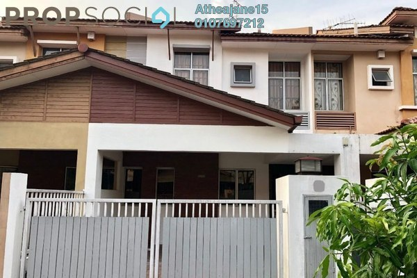 Terrace For Sale in Ametis Terraces, Bandar Bukit Puchong Freehold Semi Furnished 3R/3B 950k