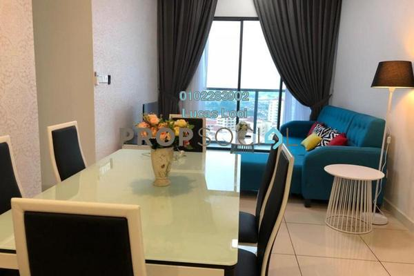 Serviced Residence For Sale in Sunway Geo Residences 2, Bandar Sunway Leasehold Fully Furnished 3R/2B 1.1m