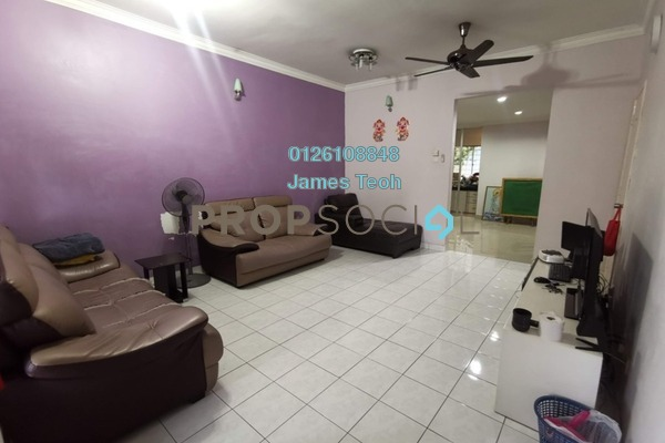 Terrace For Sale in PU5, Bandar Puchong Utama Freehold Semi Furnished 3R/3B 558k