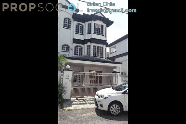 Terrace For Sale in Bayan Hill Homes, Bandar Puchong Jaya Freehold Unfurnished 5R/4B 1.05m