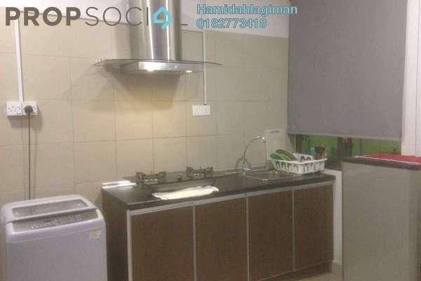 Condominium For Sale in Univ 360 Place, Seri Kembangan Freehold Fully Furnished 0R/1B 330k