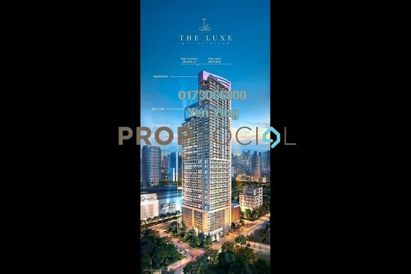 For Sale Serviced Residence at The Luxe by Infinitum, Kuala Lumpur Freehold Semi Furnished 1R/2B 940k