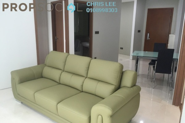 Condominium For Sale in Vortex Suites & Residences, KLCC Freehold Fully Furnished 2R/2B 915k