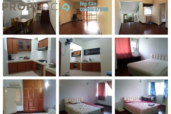 Condominium For Rent in Faber Ria, Taman Desa Freehold Fully Furnished 3R/3B 2.2k