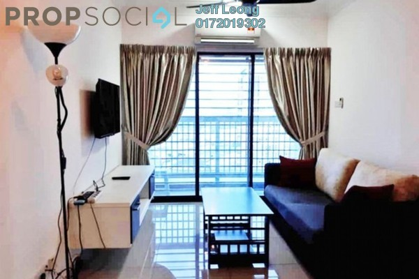 Serviced Residence For Rent in Alam Sanjung, Shah Alam Freehold Semi Furnished 3R/2B 1.7k