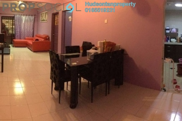 Condominium For Sale in Ixora Apartment, Kepong Freehold Semi Furnished 3R/2B 250k