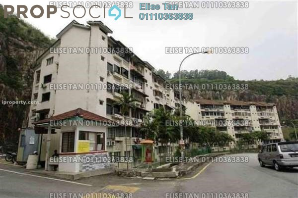 Apartment For Sale in Mutiara Court, Cheras Freehold Semi Furnished 3R/2B 171k
