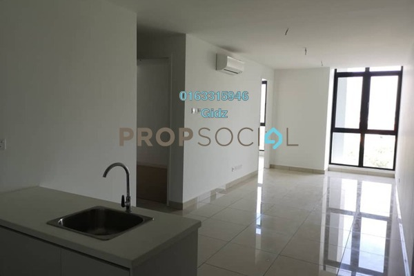 Apartment For Rent in H2O Residences, Ara Damansara Freehold Semi Furnished 2R/2B 1.8k