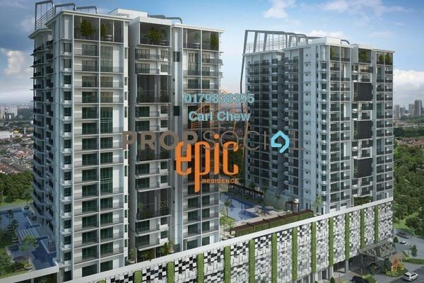共管公寓 单位出售于 Epic Residence, Bandar Bukit Puchong Freehold Semi Furnished 3R/2B 618.0千
