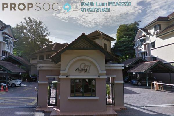 Townhouse For Rent in Ampang 971, Ampang Hilir Freehold Semi Furnished 4R/3B 3.8k