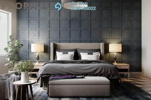 Grey wallpaper bedroom textured in squares chequer amn2i4ozlkgjf37fmutv small