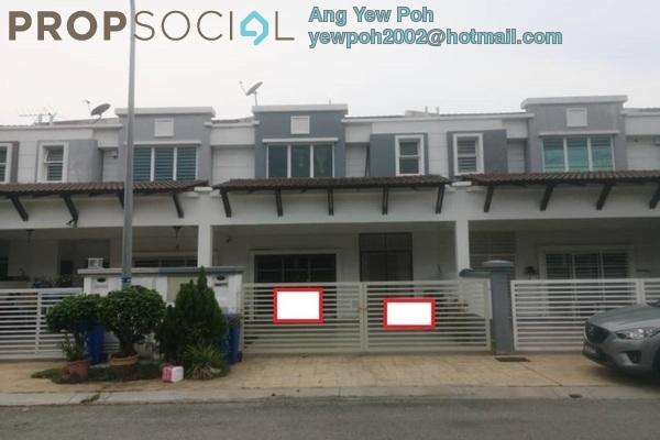 Terrace For Sale in Berjaya Park, Shah Alam Freehold Semi Furnished 4R/4B 630k