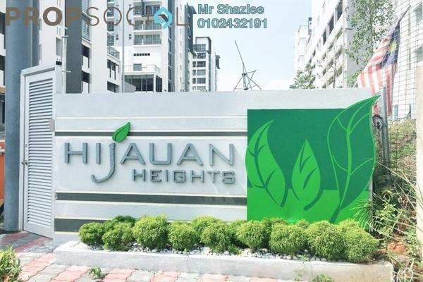 Condominium For Sale in Hijauan Heights, Kajang Freehold Unfurnished 3R/2B 430k