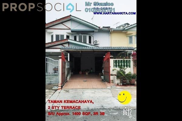 Terrace For Sale in Taman Kemacahaya, Batu 9 Cheras Freehold Unfurnished 3R/3B 450k