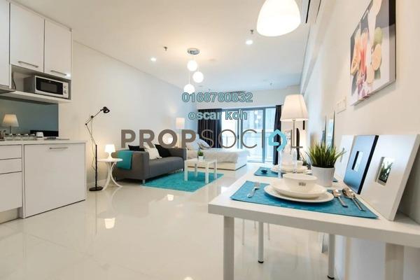Condominium For Sale in Hedgeford 10 Residences, Wangsa Maju Freehold Semi Furnished 2R/2B 390k