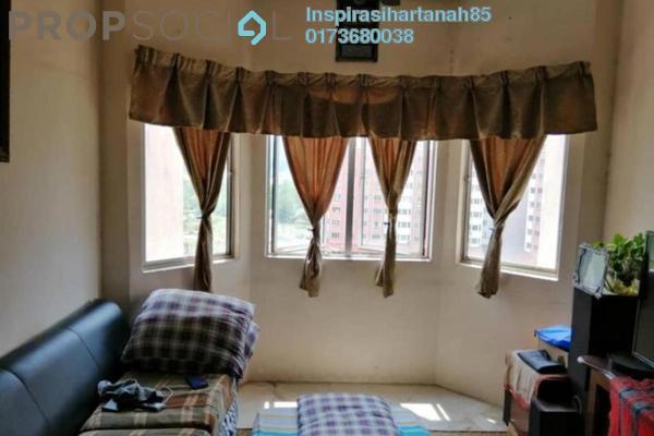 Apartment For Sale in Taman Desaminium, Bandar Putra Permai Freehold Fully Furnished 3R/2B 235k
