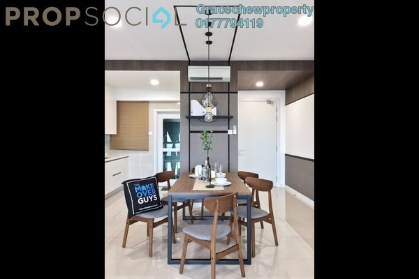 Condominium For Sale in Iskandar Residences, Medini Freehold Fully Furnished 3R/3B 1.2m