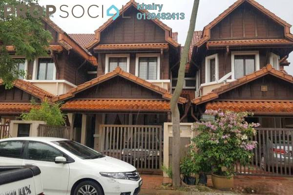 Terrace For Sale in Damai Jasa, Alam Damai Freehold Semi Furnished 4R/3B 900k