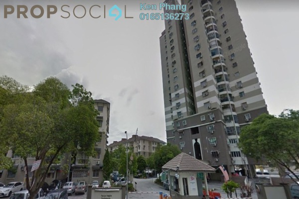 Condominium For Rent in Pandan Height, Pandan Perdana Freehold Semi Furnished 3R/2B 1.15k