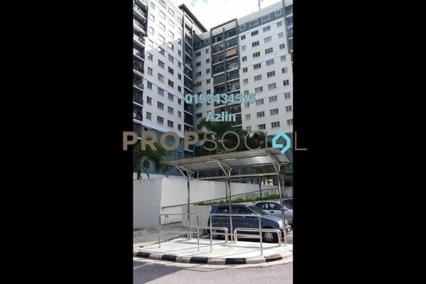 Apartment For Rent in Angsana Apartment, Batu Caves Freehold Semi Furnished 3R/2B 1.1k