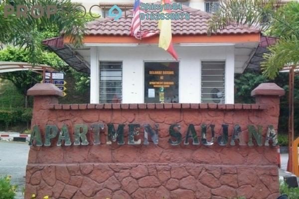 Apartment For Rent in Saujana Apartment, Damansara Damai Freehold Unfurnished 3R/2B 350translationmissing:en.pricing.unit