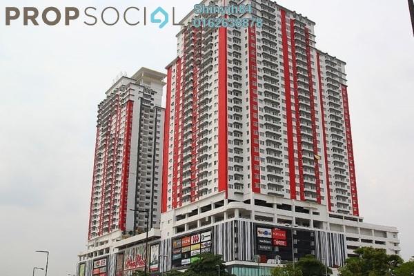 Condominium For Rent in Main Place Residence, UEP Subang Jaya Freehold Fully Furnished 2R/1B 1.6k