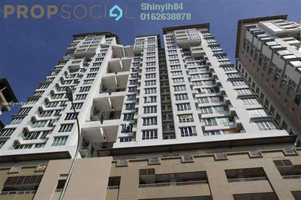 Condominium For Rent in Casa Tiara, Subang Jaya Freehold Fully Furnished 3R/2B 1.8k